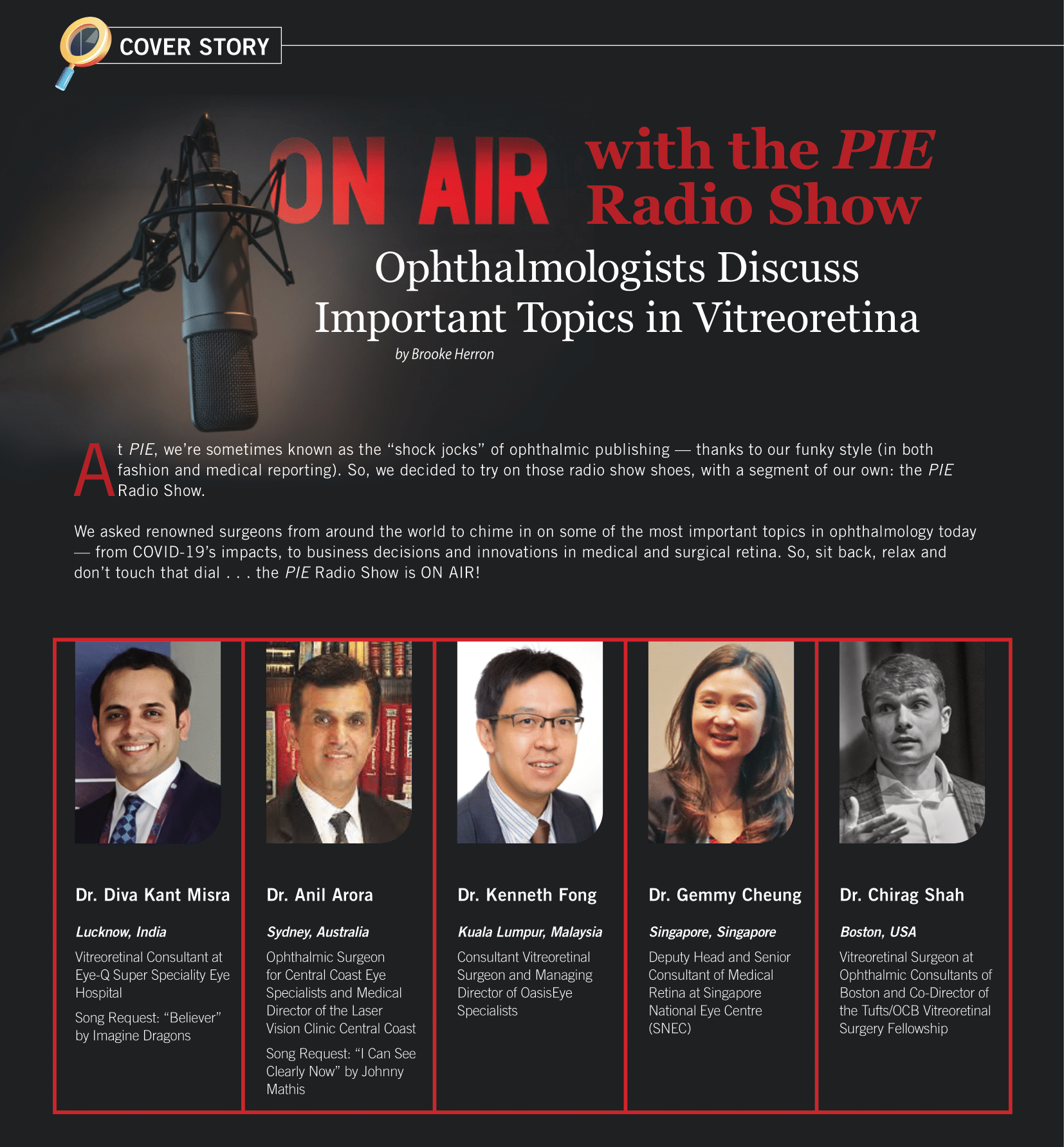 Ophthalmologists Discuss Important Topics in Vitreoretina