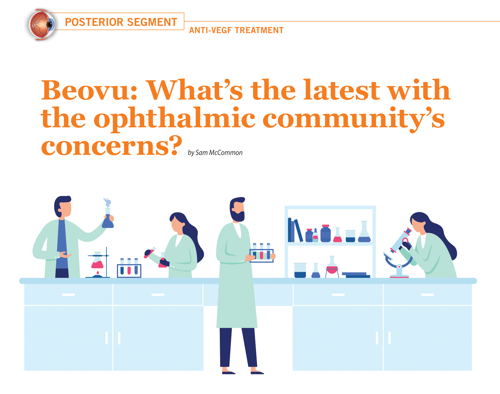 Beovu: What's the latest with the ophthalmic community's concerns?